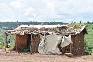 Congolese refugee house
