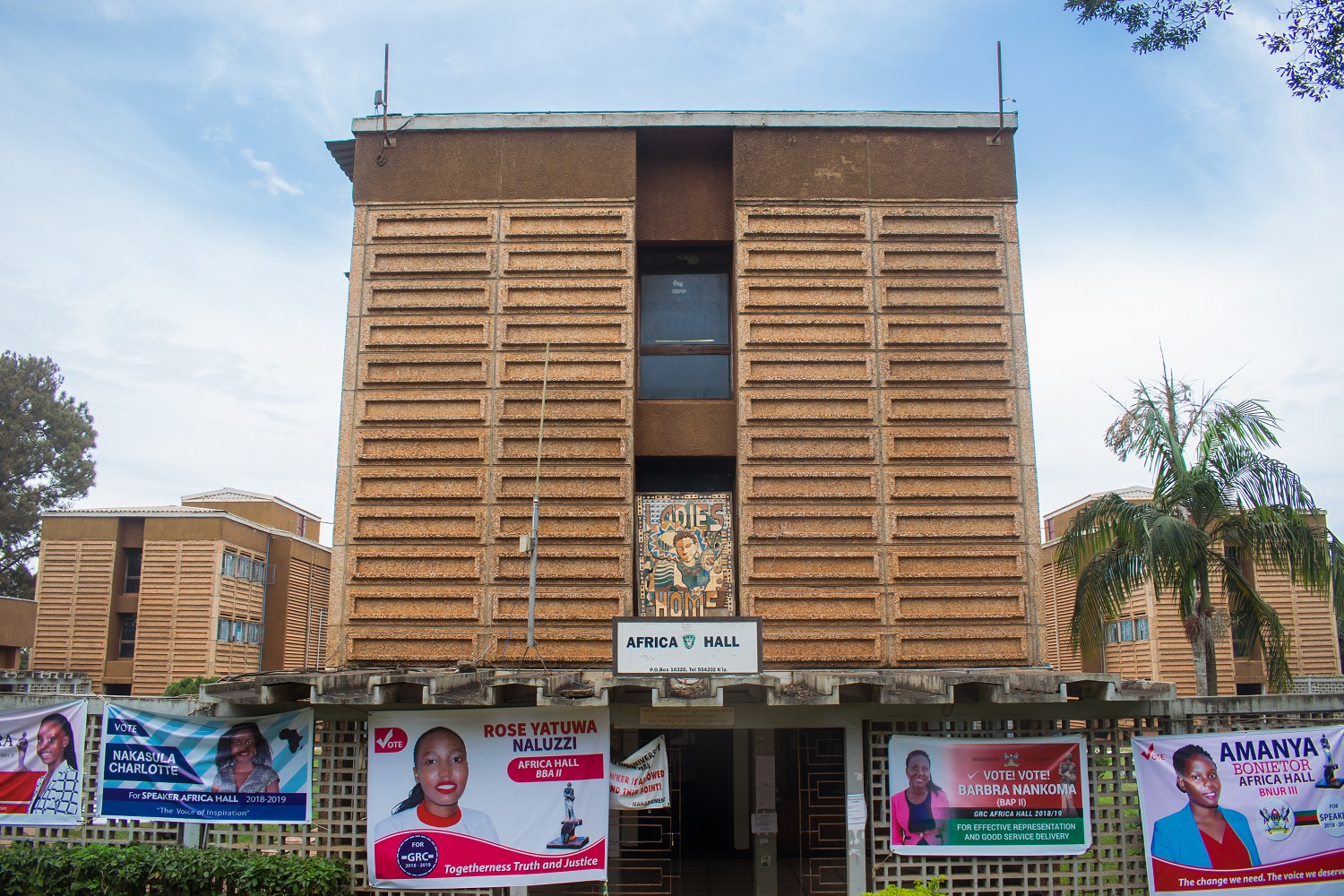 Africa Hall, Makerere
