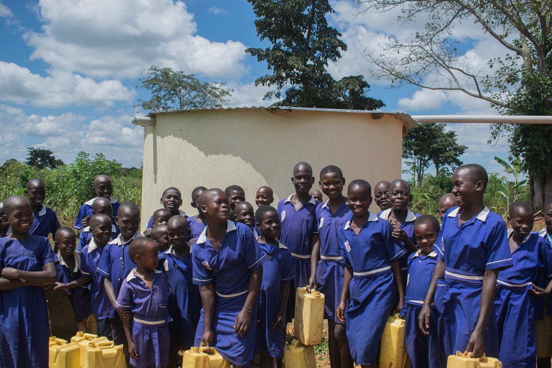 HYT Water Tank at Bulondo