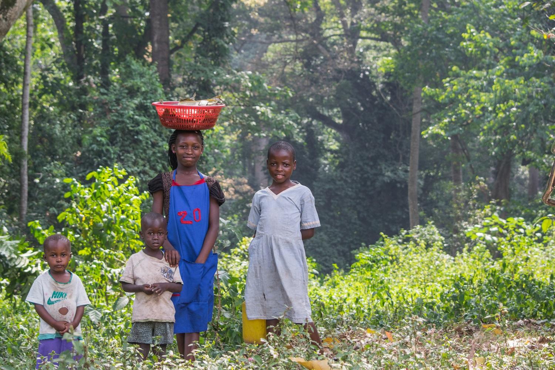 Children of the Mabira Communit