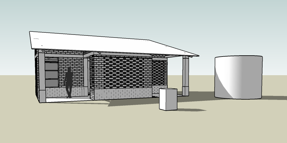 Sketchup House Diagram