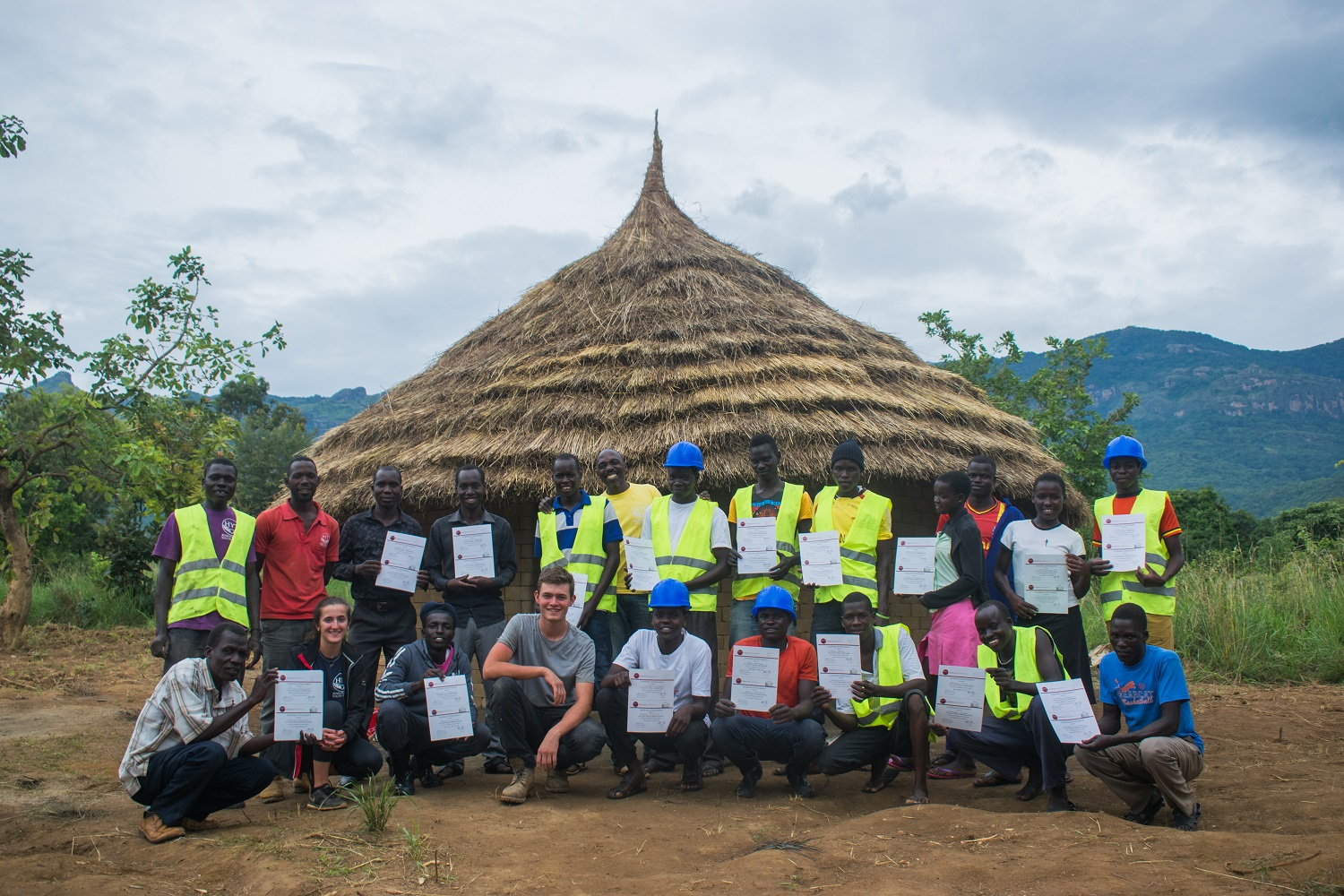 Nakapiripirit House Construction Team