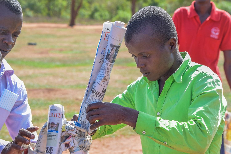 HYT Uganda team building exercise at Kayembe Primary School